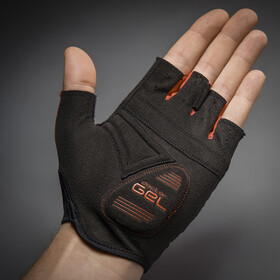 GripGrab Solara Padded Tan Through Short Finger Gloves red